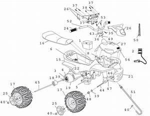 Power Wheels Dora Quad Parts