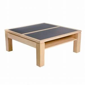 Table Basse Carrée : table basse carr e modulable en c ramique et bois dinette 4 ~ Teatrodelosmanantiales.com Idées de Décoration