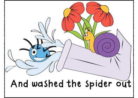 Incy Wincy Spider Clipart