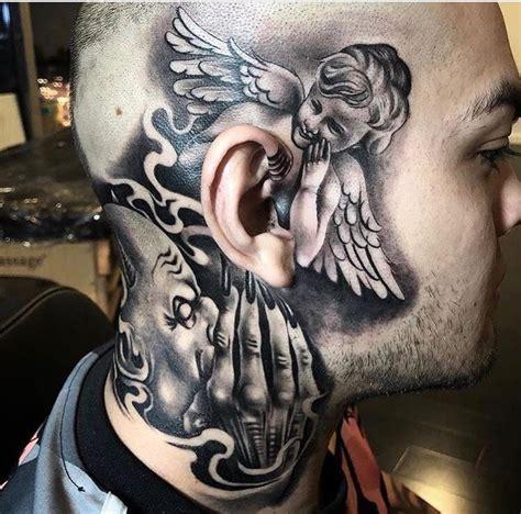 Good And Evil Cross Tattoos  Wwwpixsharkcom Images