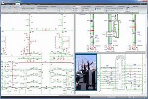 Sch U00e9ma  U00e9lectrotechnique Unifilaire