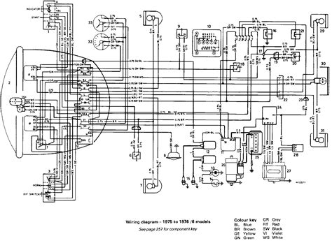 Bmw R75 5 Wiring Diagram by 1971 R75 5 Output Flange Page 2