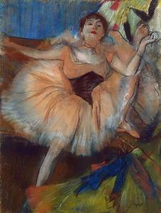 seated dancer edgar degas hermitage museum