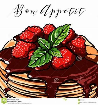 Pancake Berries Signboard Cafes Blueberries Raspberry Breakfast