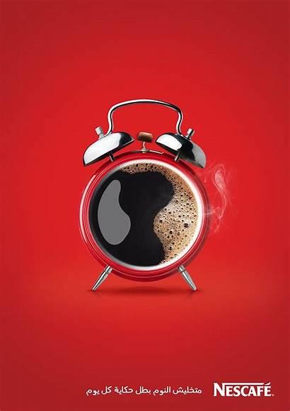 Behance Nescafe Ad Creative Coffee Advertising Photoshop