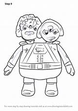 Miles Tomorrowland Crick Watson Admirals Drawing Draw Step Coloring Tutorials Pages Cartoon Template sketch template