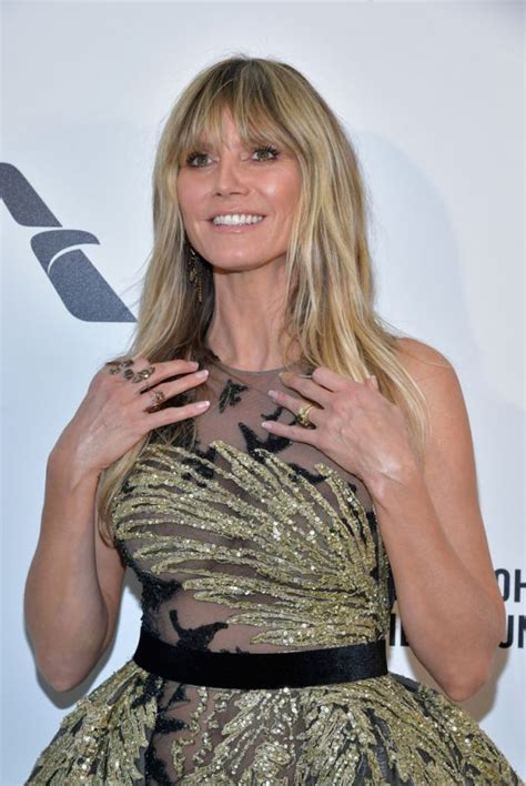 Heidi Klum Elton John Aids Foundation Oscar Party