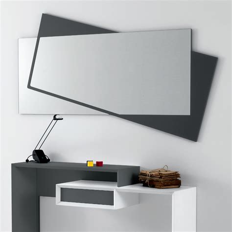 specchiere moderne per ingressi specchio da parete moderno in mdf laccato opaco holden