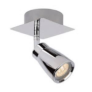 spot led orientable pour salle de bains en m 233 tal longueur 8 cm lucide port offert