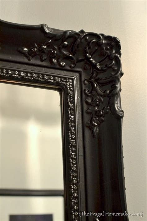 How To Spray Paint A Mirror Frame Awesome To Make Any