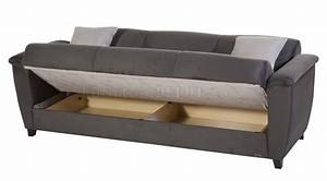 aspen rainbow dark grey sofa bed in fabric by sunset w options With sofa bed options