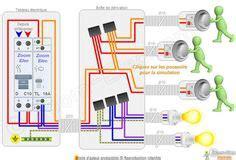 schema va  vient electrique branchement  montage