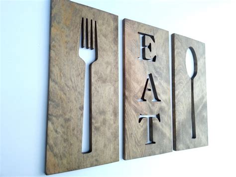 wood crafts diy wood crafts art fork spoon and eat wooden plaques blocks of wood for crafts