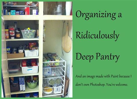 Pinning This So That When My Pantry Is A Mess Again, I