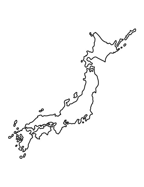 pin  april  template map outline japan tattoo