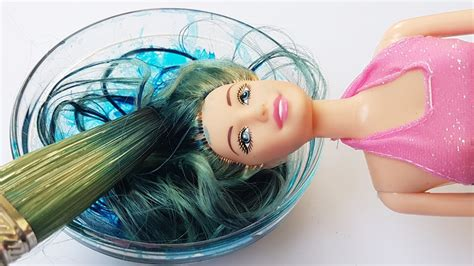 Diy How To Dye Doll Colors Hair