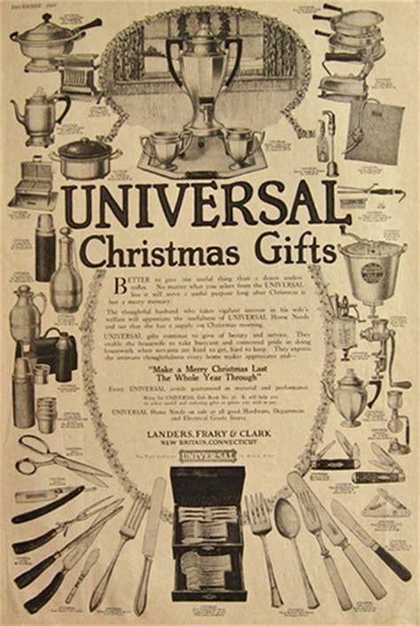 universal kitchenware appliances ad vintage