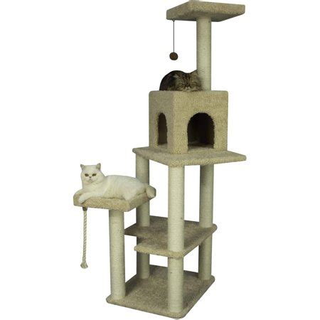 Armarkat Cat Tree, Beige, Large Walmartcom
