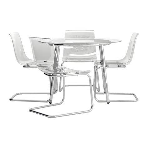 Ikea Dining Table And Chairs Glass by Salmi Tobias Table And 4 Chairs Ikea