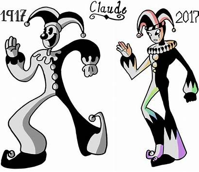 Bendy Ink Claude Clown Oc Machine Deviantart