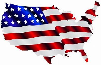Flag American Clip Cliparts Cool Usa America