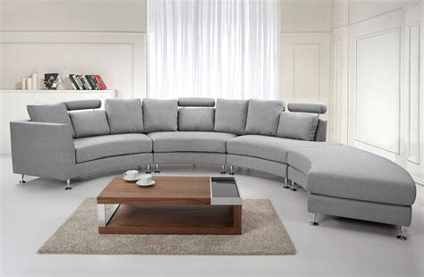 7 seat sectional sofa seven seater couch grey rotunde upholstery round sofa