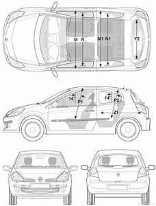 Dimensions Renault Clio : blueprints cars renault renault clio iii 2006 ~ Medecine-chirurgie-esthetiques.com Avis de Voitures