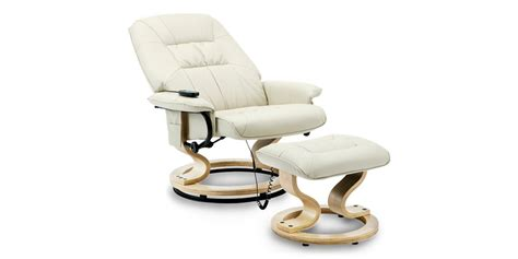 The calisto full leather swivel chair is designed with comfort and versatility in mind. Tilbury Leather Swivel Recliner Chair with Foot Stool in Cream
