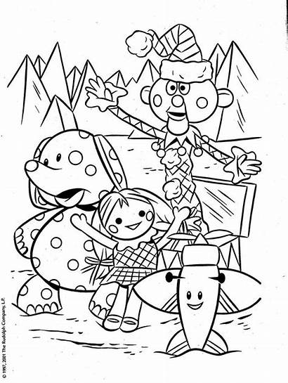 Coloring Toys Rudolph Pages Misfit Christmas Reindeer