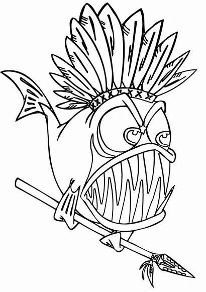 Piranha Coloring