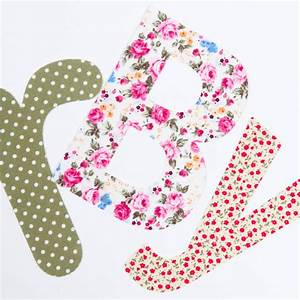 iron on fabric letters extra large size by make it friday With make iron on letters
