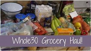HUGE Whole30 Grocery Haul! | Trader Joe's & Stop and Shop ...