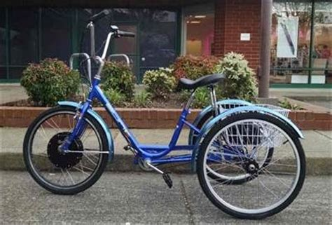 Electric Motor For Tricycle by Tricycles Cynergy E Bikes Portland Or