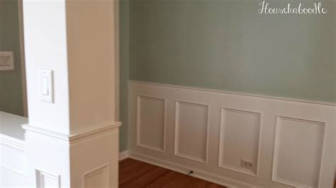 Wainscot Paneling Pictures by How To Make A Recessed Wainscoting Wall From Scratch