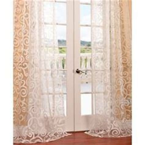one panel neoclassical embroidered white floral