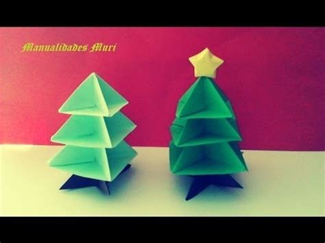 origami papiroflexia 193 rbol de navidad christmas tree