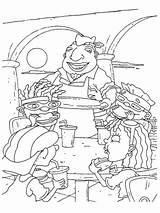 Cafeteria Lunch Coloring Pages Template sketch template