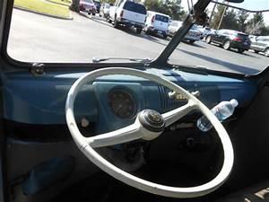 1960 Dove Blue Logoed Patina Slammed Vw Single Cab Bus For
