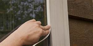 Temporary weather stripping tips on the house for Window weather stripping