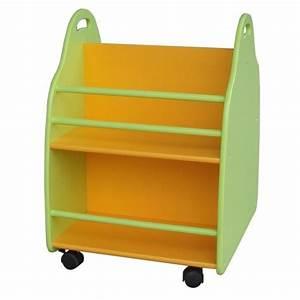Bibliothèque Sur Roulette : boite de rangement bibliotheque enfant ~ Teatrodelosmanantiales.com Idées de Décoration