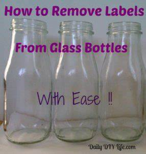 tuesday tips how to remove labels from glass bottles With how to label glass jars