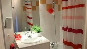 logements stud39city residence etudiante clermont ferrand With porte d entrée pvc avec miroir salle de bain avec bandeau lumineux