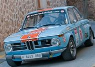 BMW 2002 Rally Car Race