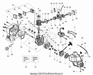 Poulan 112 Gas Trimmer Parts Diagram For Engine Assy