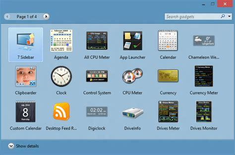 gadget bureau windows 7 8gadgetpack brings windows 7 gadgets back to windows 10