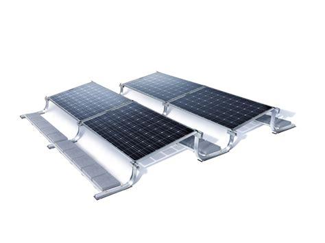 bifacial solar modules  optimized racking sunfix bisun