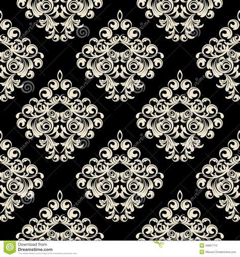 damask wallpaper stock vector illustration  intricacy