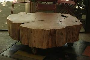 sonoma county concrete furniture tables seats more With cypress stump coffee table