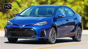 2017 Toyota Corolla Se Blue Metallic Exterior