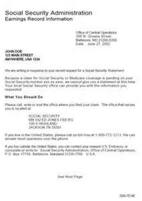 award letter social security social security benefits award letter letter of